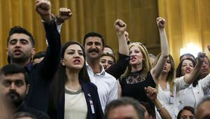 CHP Grup Toplantısı'ndaki sloganlara soruşturma