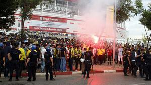 Fenerbahçe taraftarına müdahale!