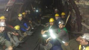 28 madenci kendini ölüme terk etti
