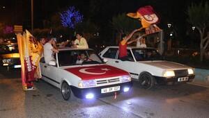 Kahramanmaraş'ta Kupa sevinci