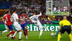 Real Madrid'in golünde ofsayt tartışması!
