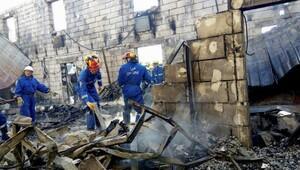Ukrayna'da yangın: 17 ölü