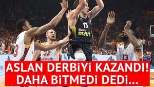 Galatasaray 65-63 Fenerbahçe