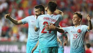 Türkiye Karadağ'ı 90+4'te geçti - (Maç özeti)