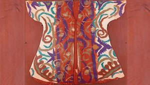 Anadolu keçe sanatının en iyi örneklerinden olan 'Kaftan' müzayede sergilenecek.