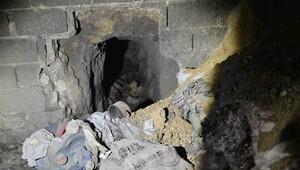 PKK'nın tünelleri ortaya çıktı