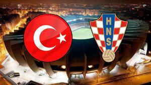 Türkiye Hırvatistan milli maçı hangi kanalda saat kaçta hangi gün