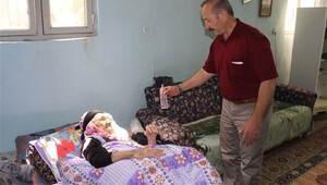 Adıyaman'da yatağa mahkum yaşlı kadın 1 puan yüzünden mağdur oldu