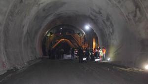 Ovit Tüneli'nde son 900 metre
