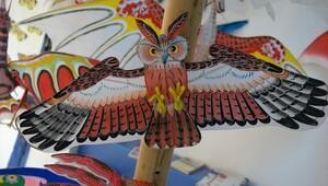 Gökyüzünün kanatsız kuşları Uçurtma Müzesi'nde