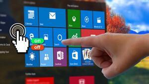 Windows'ta dokunmatik ekran nasıl kapatılır?