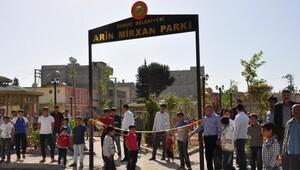 PYD'li canlı bombanın ismini parka verdiler!
