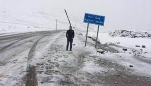Rizeye haziran karı yağdı!