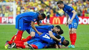 Fransa 2-1 Romanya / Maçın Özeti