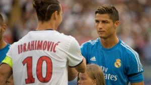 Ronaldo ve Ibrahimovic rekor peşinde