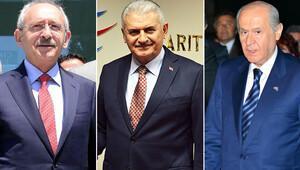 İzmir'de üç gün üç lider