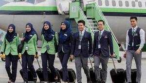 Malezyalı islami havayolu şirketi Rayani'nin seferleri durduruldu