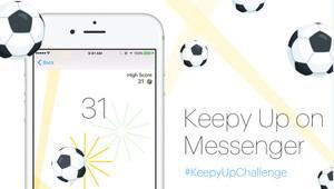Facebook Messenger'a yeni oyun: KeepyUp
