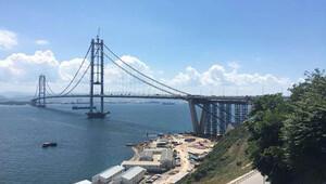 Osman Gazi Köprüsü açılış törenine hazırlanıyor