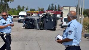 Zırhlı araç kazasında 2'nci şehit