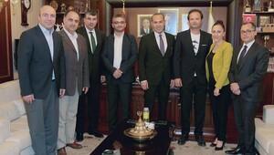 Başkan Sözlü'den Plato Adana'ya destek