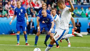 Çek Cumhuriyeti 2-2 Hırvatistan / MAÇIN ÖZETİ