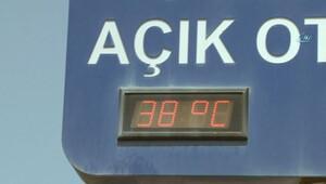 İstanbul yanıyor! Termometreler 38 dereceyi gösterdi