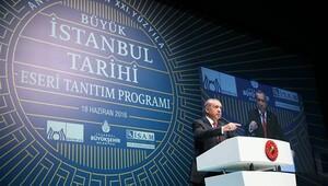 Cumhurbaşkanı Erdoğan'dan Gezi Parkı açıklaması