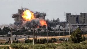 Münbiç'te koalisyon uçakları IŞİD emirini öldürdü