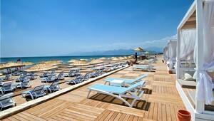 'Kendin pişir kendin ye' mottolu Antalya plajı
