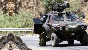 Zırhlı araca saldırı! 1 PKK'lı öldürüldü