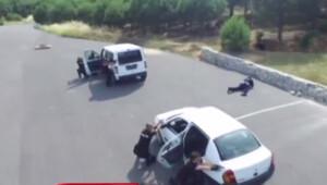 İstanbul polisi böyle atış talimi yapıyor