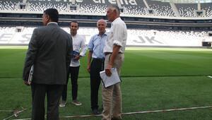 UEFA'dan Vodafone Arena'ya ziyaret