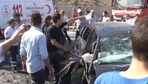 Karşı şeride geçince... Esenler'de trafik kazası: 2 ölü