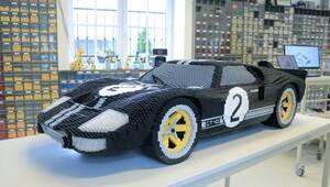 LeMans fatihi Ford GT40'ı Lego'dan yaptılar!