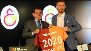 Serdar Aziz Galatasaray'a imzayı attı! İşte Serdar'ın ilk sözleri..