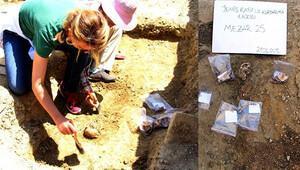 Edirne'nin merkezinde kafatası, kol ve bacak kemikleri bulundu