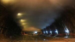Ovit Tüneli'nde son bir kilometre