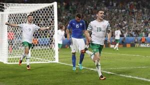 İtalya- İrlanda maçında bizi üzen gol (Maç özeti)