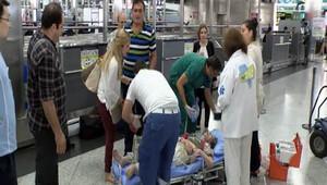 İranlı yolcu Atatürk Havalimanı'nda hayatını kaybetti