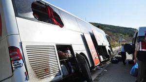 Samsun ve Malatya'da kaza: 61 yaralı