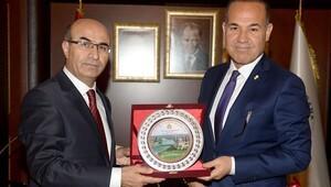 Başkan Sözlü, Vali Demirtaş'ı ağırladı
