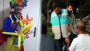 Park Polisi uyuşturucu satıcısı palyaçoyu yakaladı