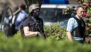 Almanya'da silahlı saldırı... Saldırgan öldürüldü, yaralı yok