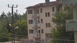 Beton bariyerler faciayı önledi