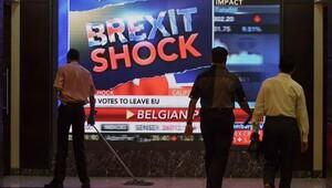 Piyasalarda 'Brexit' şoku yaşanıyor