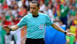 UEFA'dan hakem kararları! Cüneyt Çakır...