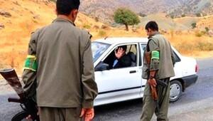 PKK yol kesti, 2 kişiyi kaçırdı