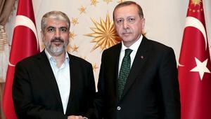Cumhurbaşkanı, Hamas lideri Meşal'le görüştü
