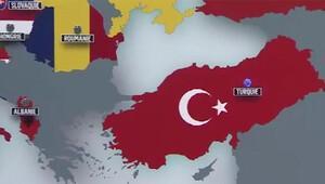 TRT'den skandal harita!